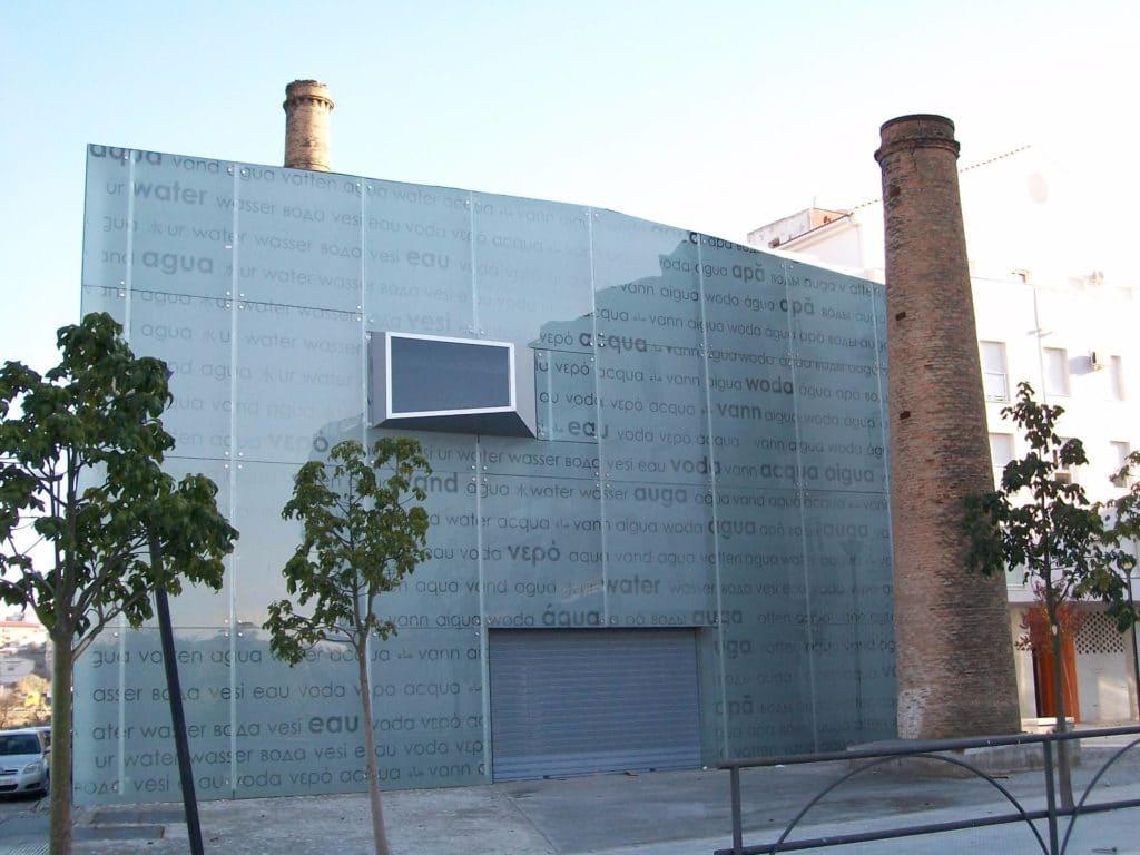 vidriera museo del agua 1