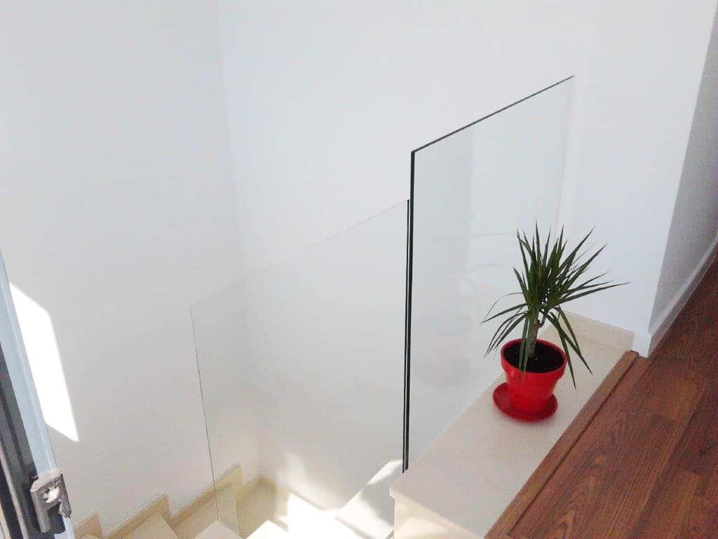 baranda de cristal de cristaleria pelayo
