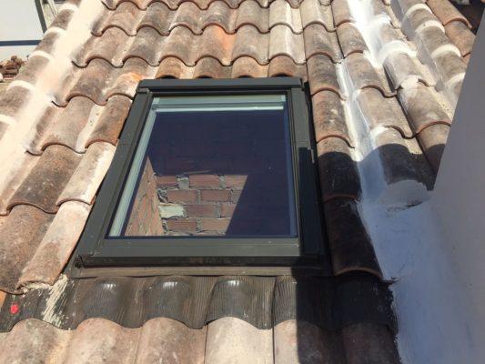 instalacion de ventana de tejado