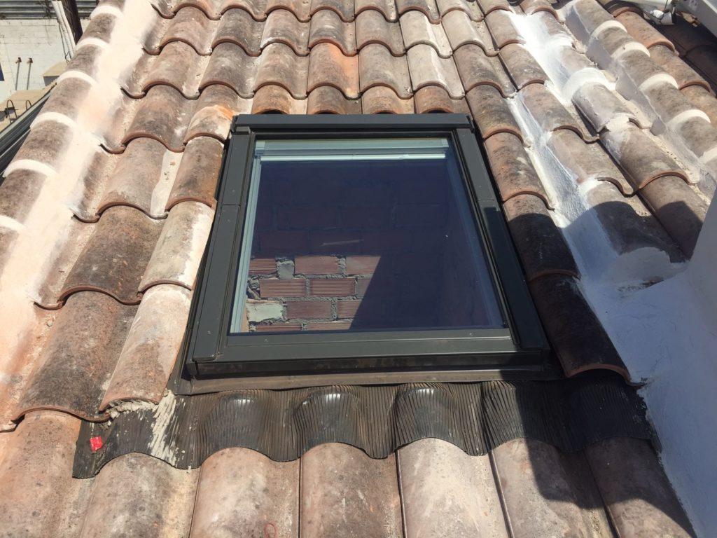 instalacion de ventana para tejado