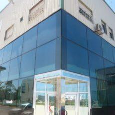 muro de cortina de cristal en marruecos