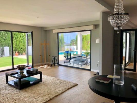 Reforma de vivienda de lujo en Benalmádena