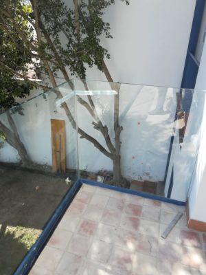 Instalacion Baranda De Vidrio Seguridad En Vivienda Familiar En Benalmadena 2